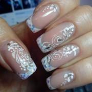 Как самостоятельно сделать узоры на ногтях