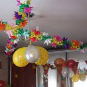Украшаем квартиру на день рождения своими руками