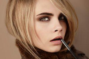 Дневной макияж с коричневыми тенями