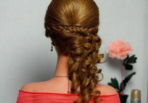 Оригинальные прически с плетением на длинные волосы в домашних условиях
