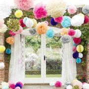 Украшаем дом на свадьбу