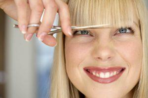 Как быстро отрастить челку без вреда для волос