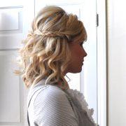 Самостоятельно делаем причёски с плетением для средних волос