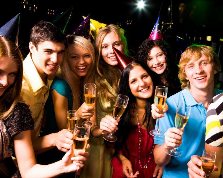 Новый год где отметить в клубе