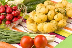 Вкусный ужин из картошки