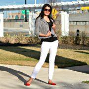 Что носить с белыми брюками, что бы выглядеть совершенно