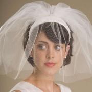 Основные правила создания свадебные прически с фатой и челкой
