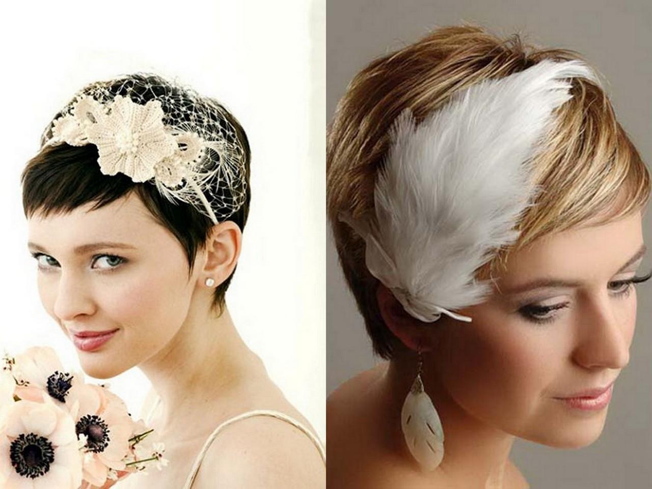 Как сделать и фото причесок для коротких волос
