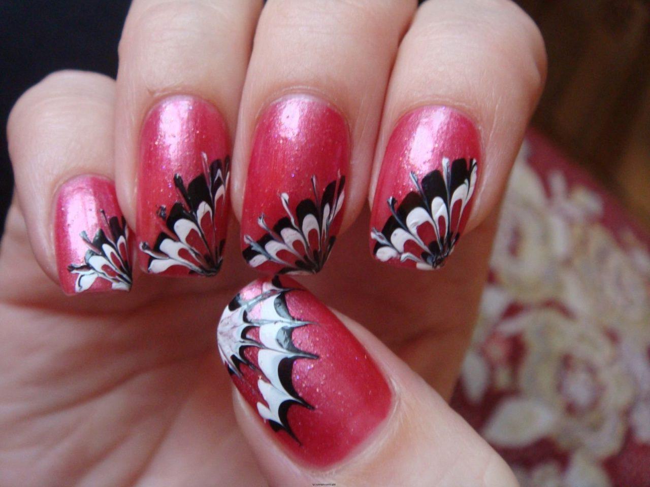 Фото ногти узоры на ногти в домашних условиях