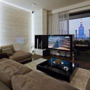 Дизайн интерьера однокомнатной квартиры 40 кв. м.