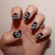 Простые узоры на ногтях в домашних условиях