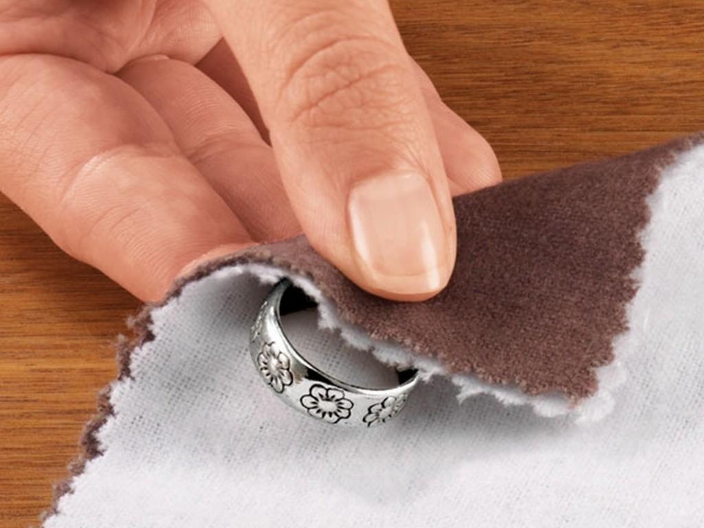Как сделать серебро что бы блестело