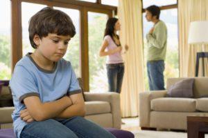 Как ребенку пережить развод родителей