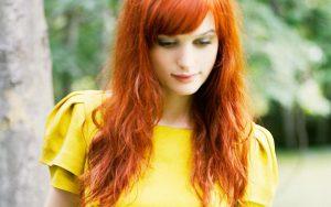 Что одеть, если у вас рыжий цвет волос
