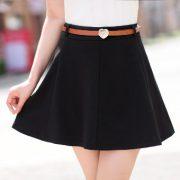 Что надеть под черную юбку