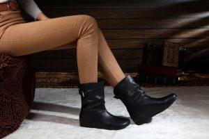 С чем носить туфли без каблука
