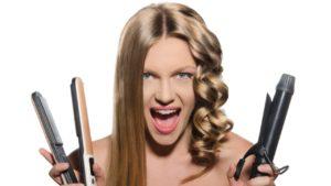 Как накрутить волосы при помощи утюжка