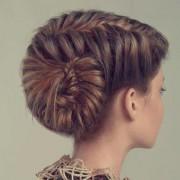 Коса из нескольких прядей