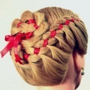 Примеры плетения волос