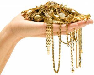 Способы чистки украшений из золота