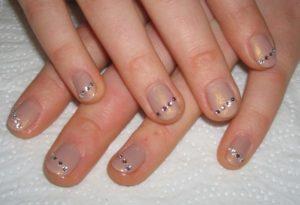 Технология маникюра на короткие ногти