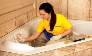 Народные средства для очистки ванн