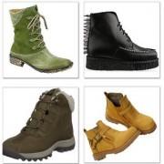 С чем носить женские ботинки?