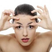 Эффективные маски что бы убрать морщины на лбу
