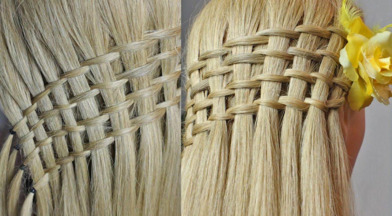 французского плетения причесок