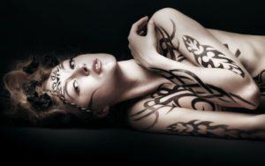 Как делать татуировки хной