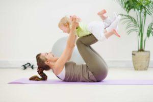 Комплекс упражнений, способствующих активному восстановлению после родов