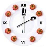 Время приема пищи для правильного питания