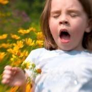 Процесс лечения аллергии у ребёнка