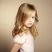 Причёски на длинные волосы для детей