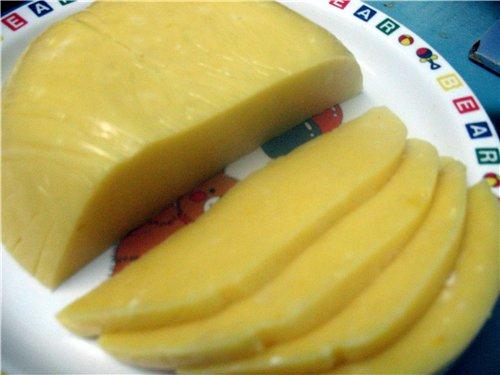 Как сделать твердый сыр своими руками