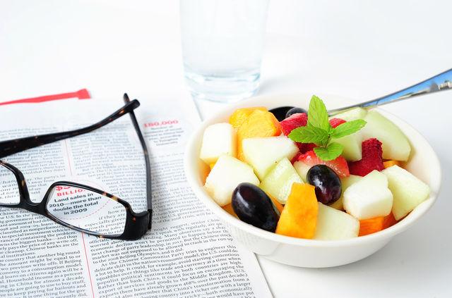 Только «здоровый» перекус на работе